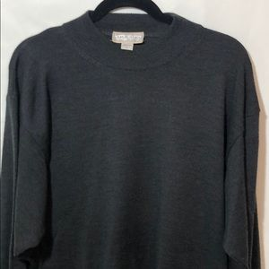 MURONO MADE IN ITALY WOOL  BLEND SWEATER L    E